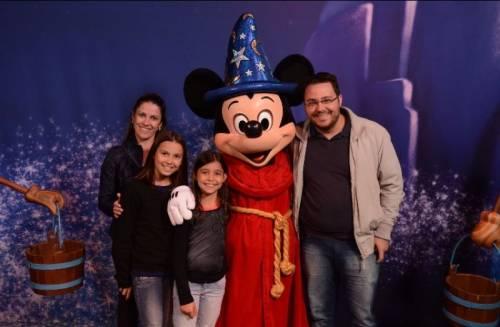 Famílias em Orlando