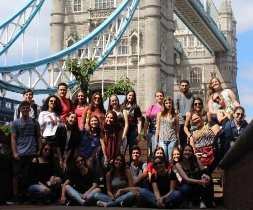 london, tower bridge, group